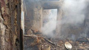 В Запорізькій області вщент згорів приватний будинок, — ФОТО
