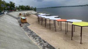 В Запорожье почти закончили реконструкцию Правобережного пляжа: что уже сделали, – ФОТО