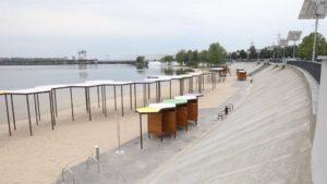 В Зaпорожье Прaвобережный пляж полностью изменился после реконструкции: что именно сделaли, – ФОТОРЕПОРТAЖ