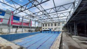 В центре Запорожья за 50 миллионов строят новый комплекс школы высшего спортивного мастерства, – ФОТОРЕПОРТАЖ