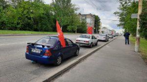 В Запорожье состоялся автопробег скандального «Полка Победы»: к памятнику участники даже не выходили, – ФОТО