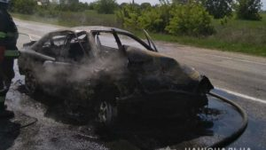 В Запорожской области в жутком ДТП на трассе погибла женщина, – ФОТО