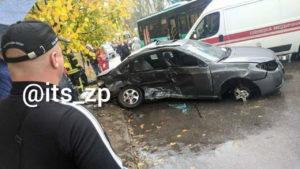 В Запорожье подросток без водительских прав устроил смертельное ДТП