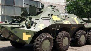 У Запорізькій області керівництво поліції закупило для БТРів старі шини замість нових, – ФОТО