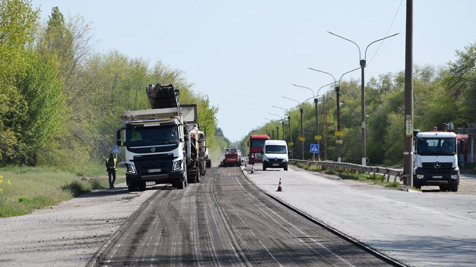 В Запорожской области начался многомиллионный ремонт трассы «Харьков-Симферополь», – ФОТОРЕПОРТАЖ