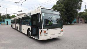 В Запорожье по маршрутам начнет курсировать новый европейский троллейбус-гармошка, – ФОТО