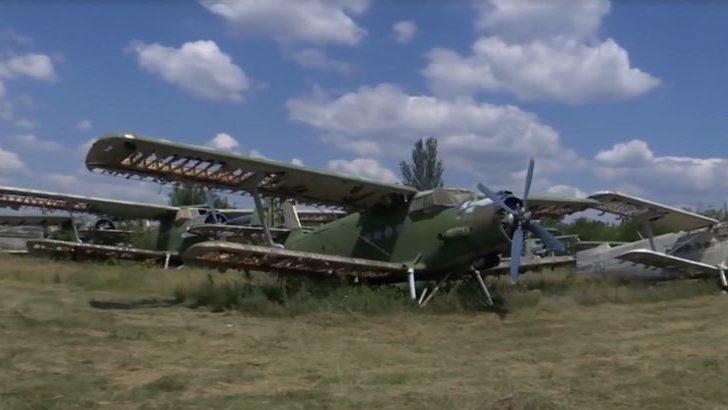 В пригороде Запорожья продают 20 самолетов, — ВИДЕО