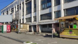 С Привокзальной площади в Запорожье демонтировали часть МАФов, - ФОТО
