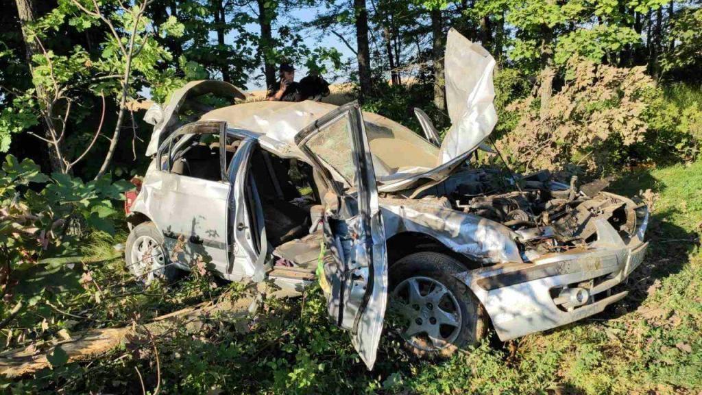 На трассе между Запорожьем та Мариуполем произошла жуткая ДТП: погиб человек, 2 детей - пострадали, — ФОТО