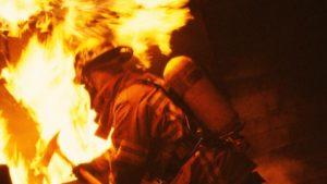 В Запорожской области произошел пожар, во время которого спасли мужчину