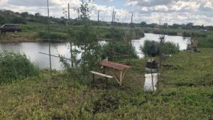 Жители Пологовского района объединились и превратили заброшенный водоем в комфортное место отдыха, — ФОТО