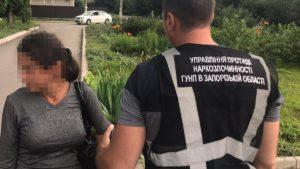 В Запорожье у женщины изъяли наркотиков на 80 тысяч гривен