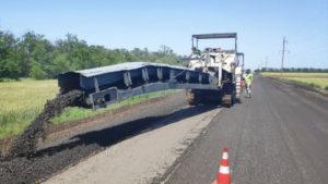 У Запорізькій області почали ремонтувати ще одну дорогу, – ФОТО