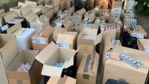 В Запорожье остановили масштабную контрабанду сигарет из «ДНР/ЛНР», – ФОТО