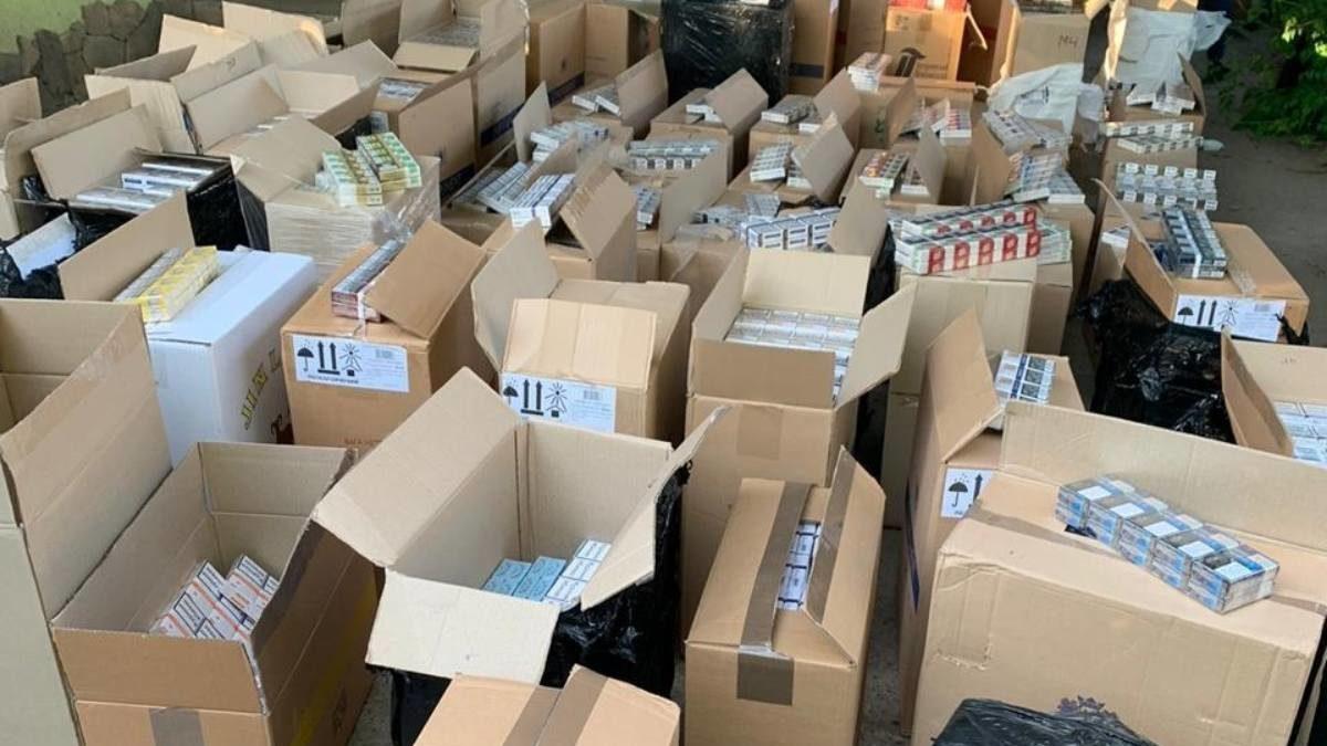 У Запорізькій області зупинили масштабну контрабанду цигарок з «ДНР/ЛНР», – ФОТО