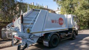 В Запорожье вандалы продолжают портить мусорные контейнеры