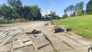 Работы по реконструкции площади Запорожской возобновились, — ФОТО
