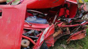 В Мелитопольском районе произошло ДТП: авто вдребезги, мужчину вытаскивали спасатели, — ФОТО