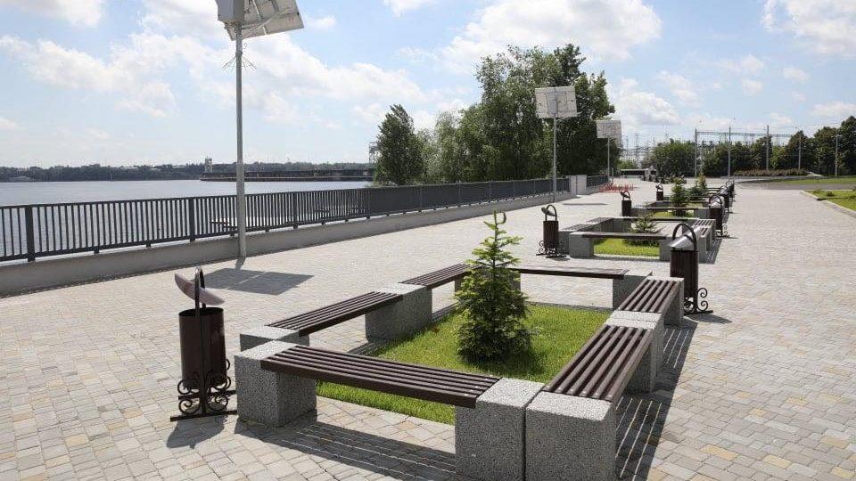 В Запорожье закончили реконструкцию Правобережного пляжа: как он выглядит, – ФОТОРЕПОРТАЖ
