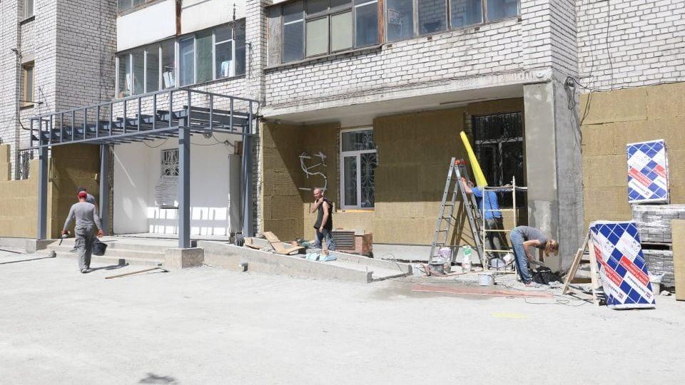 В Запорожье на Бабурке заканчивают строительство нового центра админуслуг, – ФОТОРЕПОРТАЖ