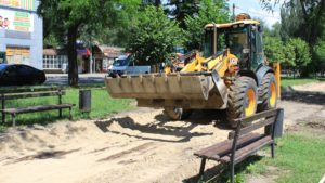 У Запоріжжі на Металургів розпочали реконструкцію пішохідної алеї, – ФОТО