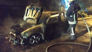 В Запорожье за ночь сгорели два автомобиля, – ФОТО