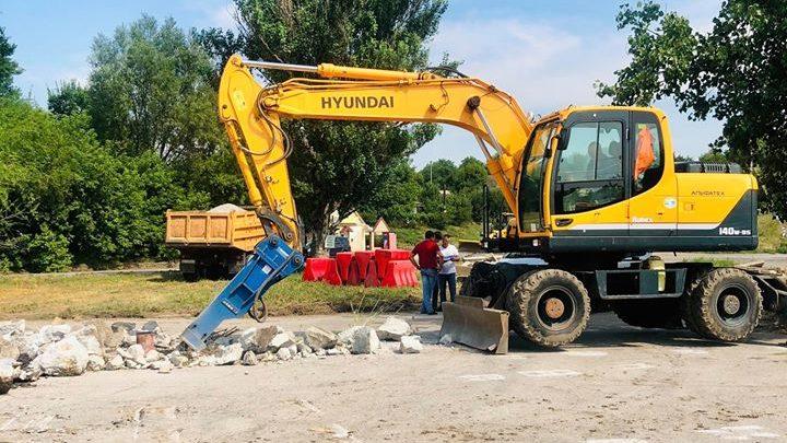 Под Запорожьем за 50 миллионов капитально отремонтируют 2 километра дороги, – ФОТО