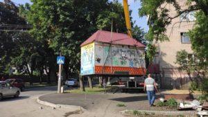 У Запоріжжі демонтували черговий незаконний кіоск, – ФОТО