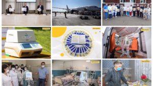 Борьба с коронавирусом: как Фонд Рината Ахметова помогает Украине остановить эпидемию