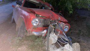 У Запорізькій області п'яний водій на смерть збив велосипедиста і протаранив стовп, – ФОТО