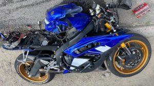 В Запорожье в ДТП погиб водитель мотоцикла: ему не уступили дорогу, – ФОТО