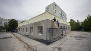 В Запорожье на Бабурке строят новую амбулаторию семейной медицины, – ФОТОРЕПОРТАЖ