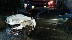 У Запорізькій області у відомого громадського працівника і соціолога згоріла машина: він заявив про підпал, – ФОТО