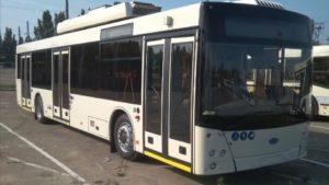 Стало известно, когда в Запорожье заработает новый троллейбусный маршрут с Бородинского на Бабурку
