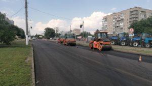 У містах Запорізької області триває масштабний ремонт доріг, – ФОТО
