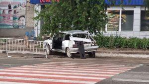 Під Запоріжжям сталася смертельна ДТП: мікроавтобус врізався в легковик – загинула жінка, – ФОТО, ВІДЕО