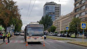 Правоохоронці затримали водія тролейбусу, який наїхав на жінку на центральному проспекті Запоріжжя