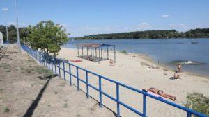 У Запоріжжі продовжують реконструкцію пляжу в Заводському районі: що вже зроблено, – ФОТОРЕПОРТАЖ