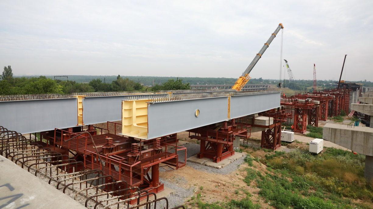 В Запорожье мост между Бабуркой и Хортицей построят уже до конца года: что сделано сейчас, – ФОТОРЕПОРТАЖ