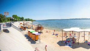 Мэр Запорожья из-за многочисленных жалоб на реконструкцию Правобережного пляжа уволил директора департамента
