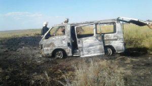 У Запорізькій області на курорті згорів автомобіль, – ФОТО