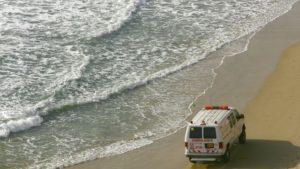 В Запорізькій області чоловік напідпитку ледве не потонув у морі