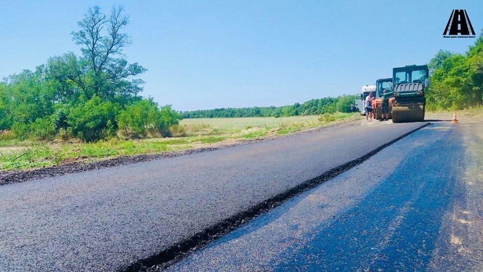 В Запорожской области начали многомиллионный ремонт еще одной дороги, – ФОТОРЕПОРТАЖ