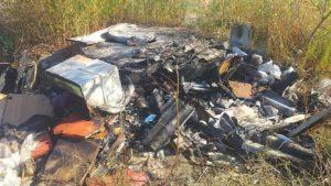 В посадці Південного мікрорайону спалили будки для собак: тваринам погрожують, — ФОТО