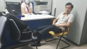 Чоловік, що захопив в Києві відділення банку, виявився мешканцем Запорізької області, — ЗМІ
