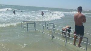 На Федотовій косі пляж адаптують для людей з інвалідністю