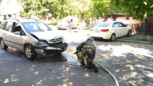 В Бердянську зіткнулися дві автівки: постраждала людина