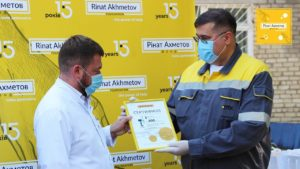 Енергодар отримав сучасні апарати ШВЛ від Фонду Ріната Ахметова