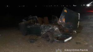 У Запорізькій області після невдалого обгону сталася смертельна ДТП: загинула дівчина, чотири людини в лікарні, – ФОТО