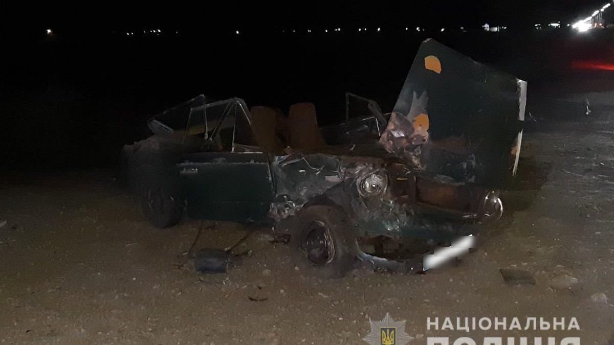 В Запорожской области после неудачного обгона произошло смертельное ДТП, – ФОТО